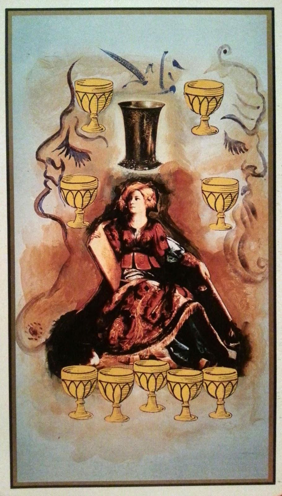 Nueve- Tarot Dalí