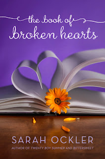 The Book of Broken Hearts Sarah Ockler book cover