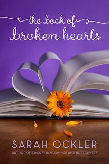 The Book of Broken Hearts Sarah Ockler book cover