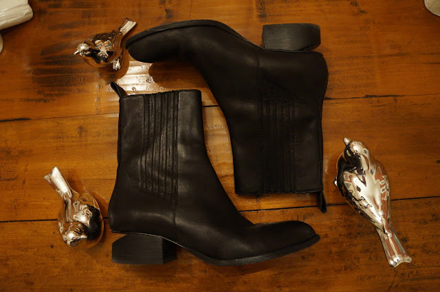 Alexander Wang Cut-out heel boots