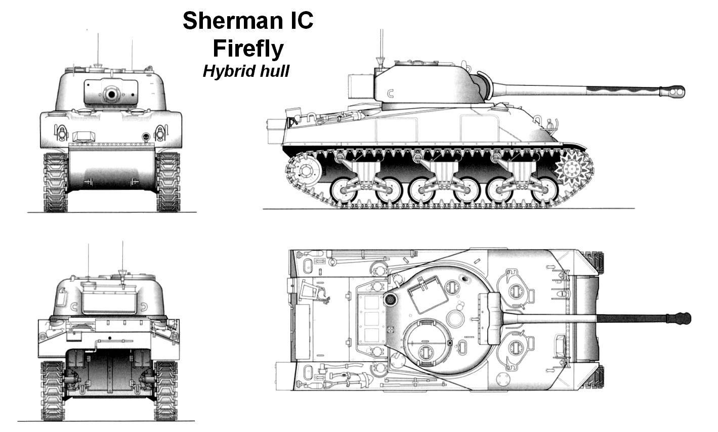 Tank Sherman: drawings. Sherman Tank Engine 15