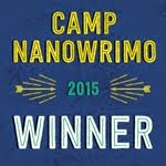 I won Camp NaNoWriMo 2015!
