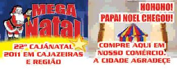 CUPONS DO NOSSO PROJETO CAJANATAL 2011