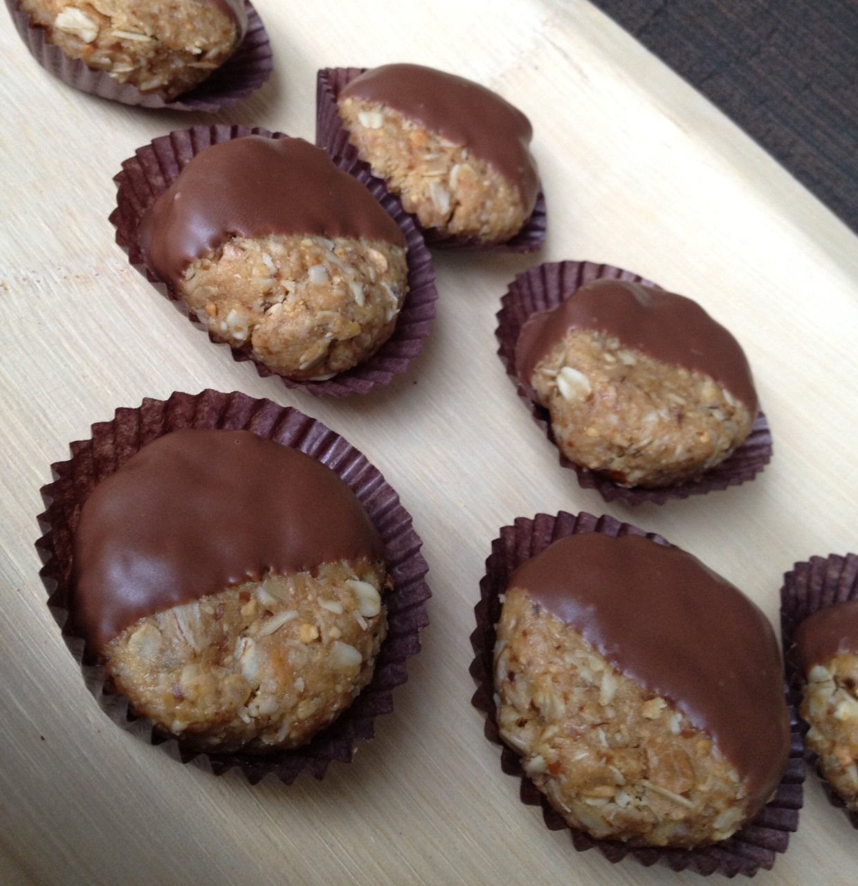Evolution of a Party...: No Bake- Healthy Power Cookies