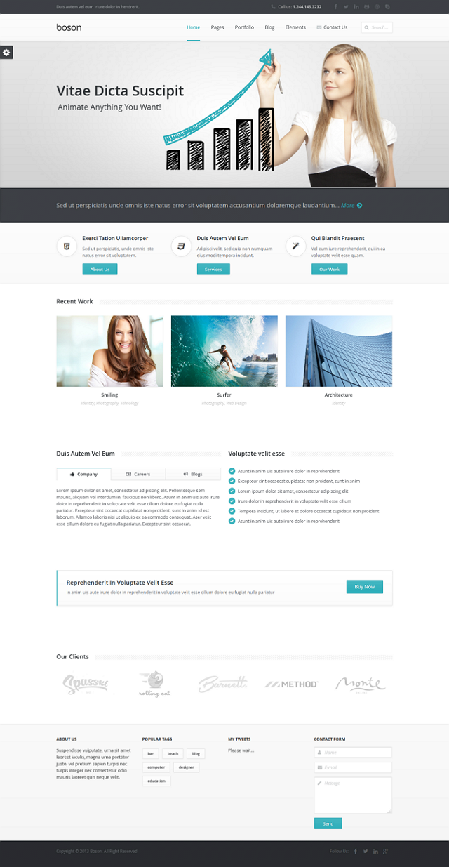Boson Multipurpose WordPress Responsive Theme