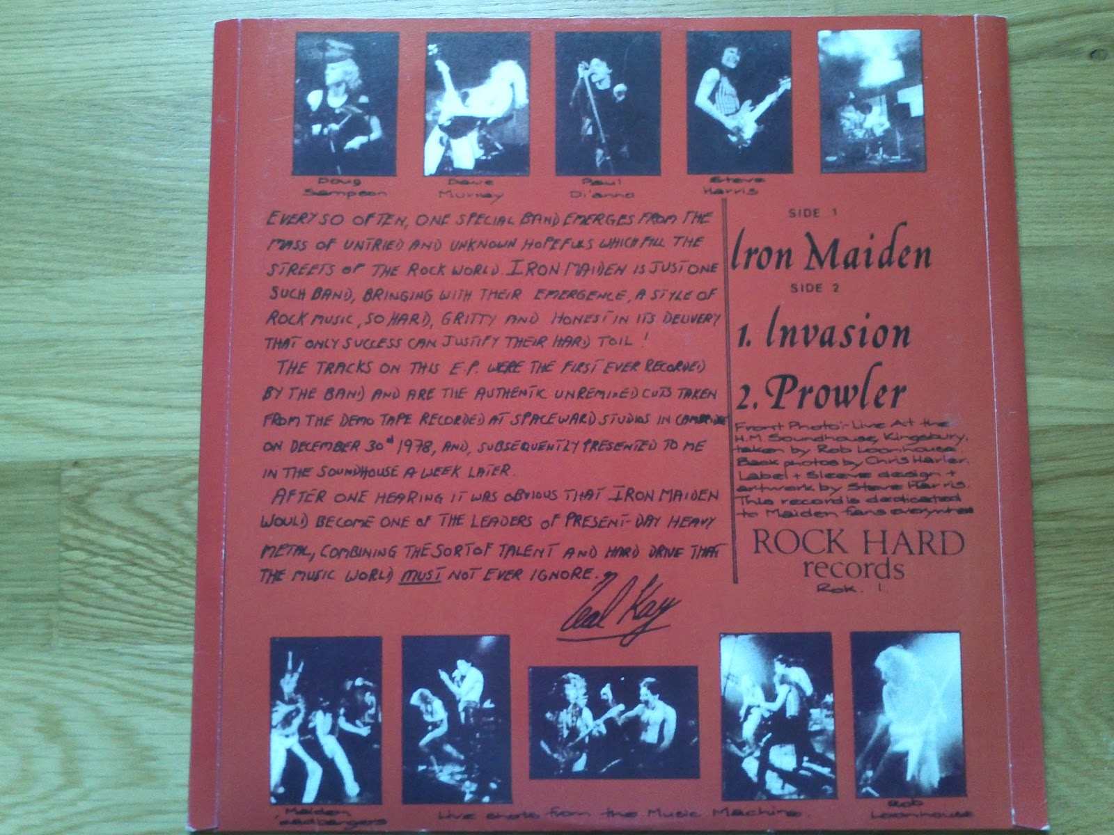 Metallifer Blog Iron Maiden The Soundhouse Tapes 1979