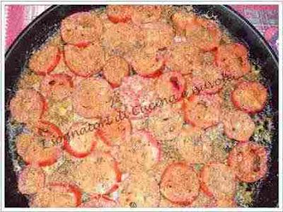 fusilli con i pomodori gratinati al forno 3