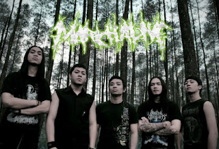 March Alive Death Metal Band Bandung Logo Foto Wallpaper