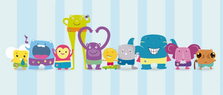 FONDOS PARA FOTOS: Caricaturas Infantiles para niños