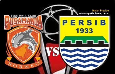 Prediksi Pusamania Borneo Vs Persib Bandung