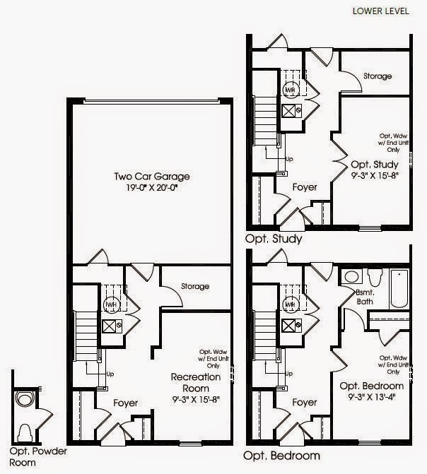 building our strauss townhome strauss floorplan. Black Bedroom Furniture Sets. Home Design Ideas