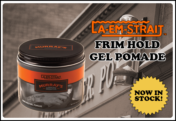 Murrays La Em Straiht Firm Hold Gel Pomade
