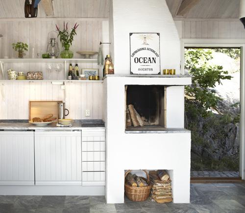 5 Key Components Of A Mellow Beach Kitchen: Coastal Style: Scandinavian Summer House
