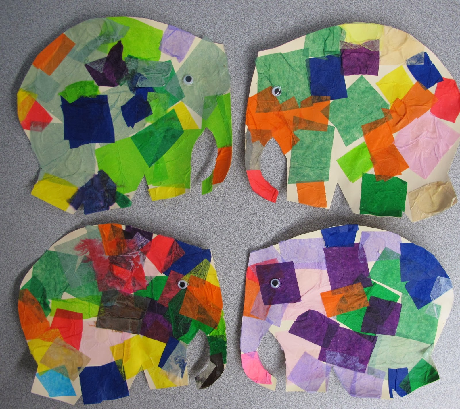 Metamora Community Preschool Elmer The Elephant 2014 Friends At Our Art Table We Had A Big With Dot Markers Lots Of And Dots Later