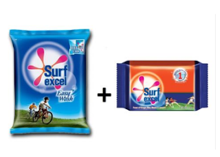 Ebay : Buy Surf Excel Easy Wash 700g With Bar Value Pack of 4,worth Rs. 200 at Rs. 90 only –  Buytoearn