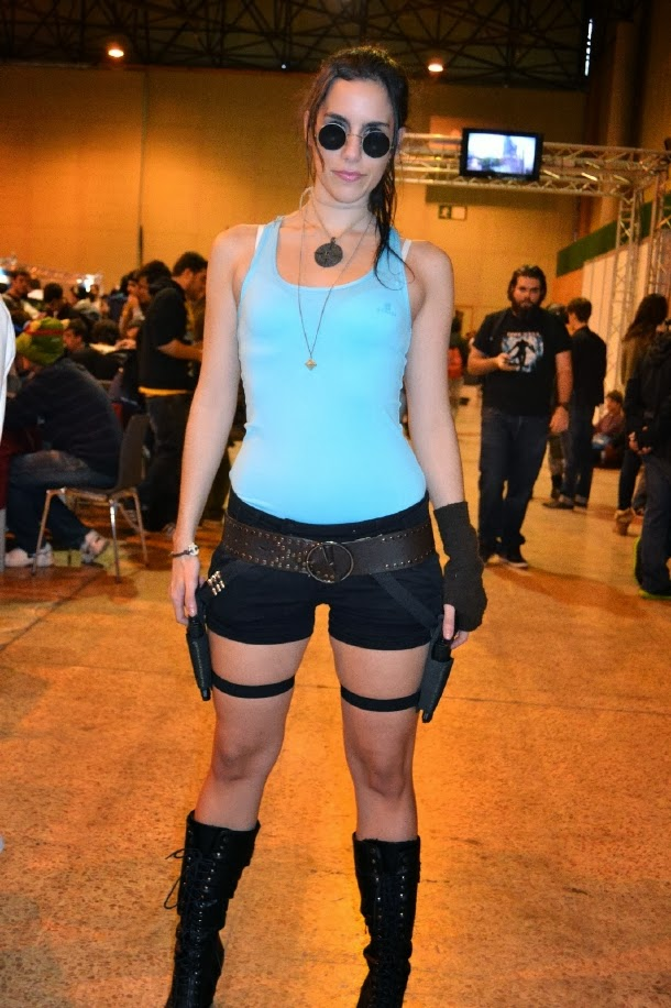 Cosplay de Lara Croft en Mangafest 2013