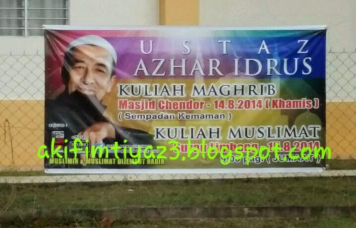 Jom Jumpa Ustaz Azhar Idrus