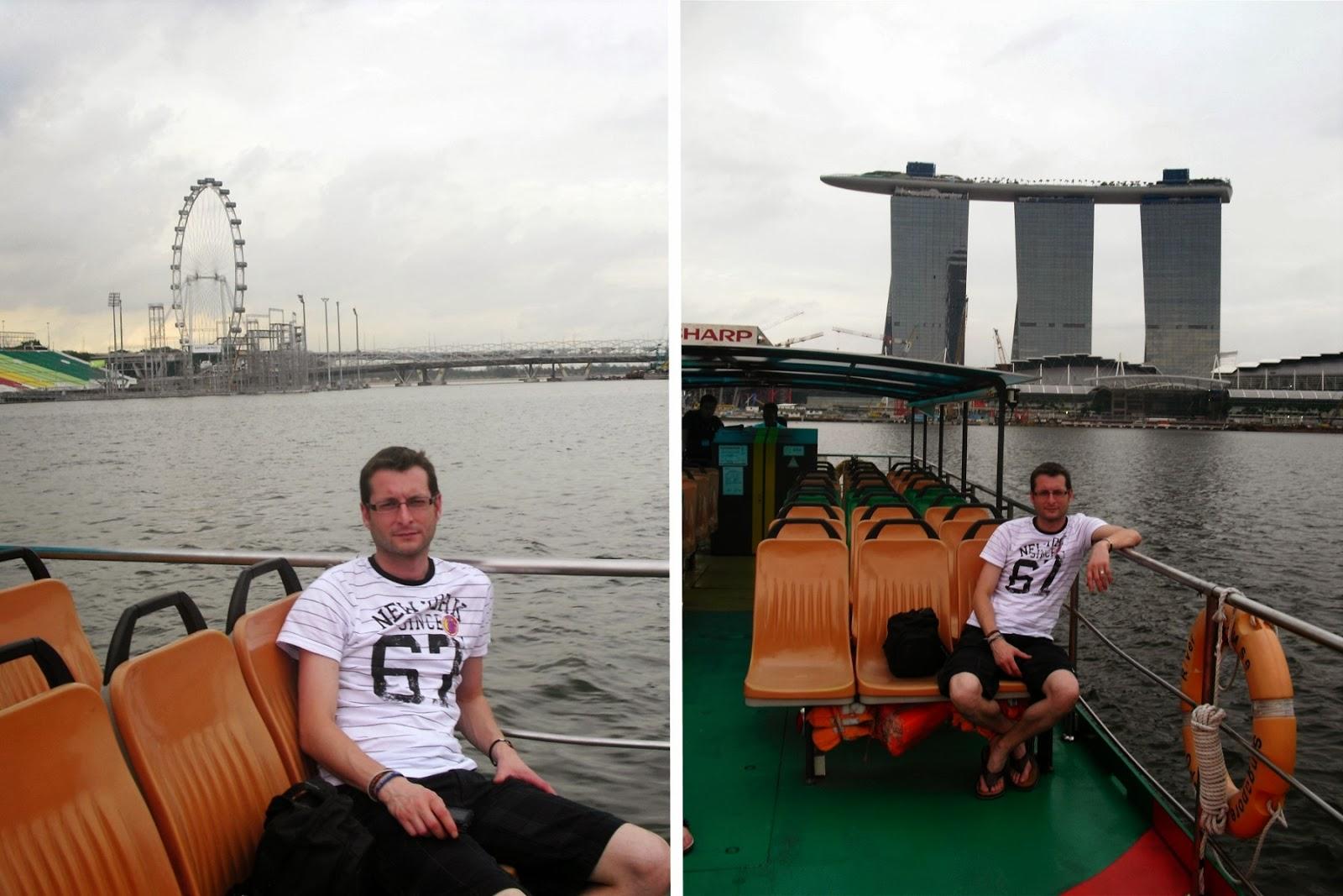 singapur, singapore noria crucero bahia