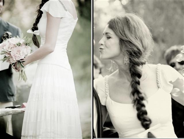 13 peinados de novia con trenzas blog de bodas for Trenza boda
