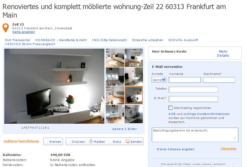 Wohnung Osnabruck Innenstadt