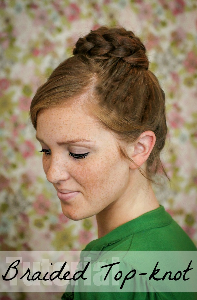 how to make a hair knot bun