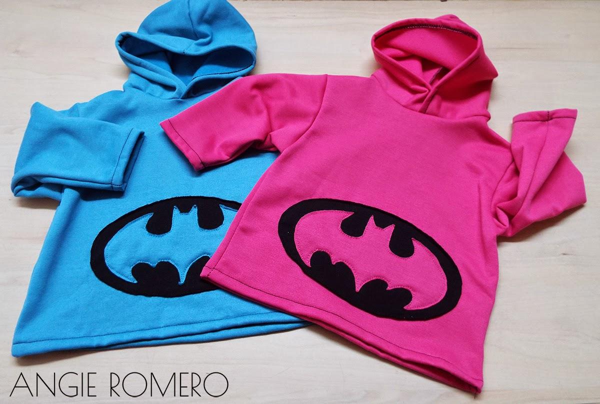como hacer chaqueta deportiva de Batman