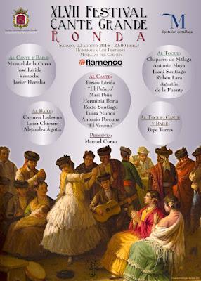 Ronda -  Feria de Pedro Romero 2015 - Festival de Cante grande