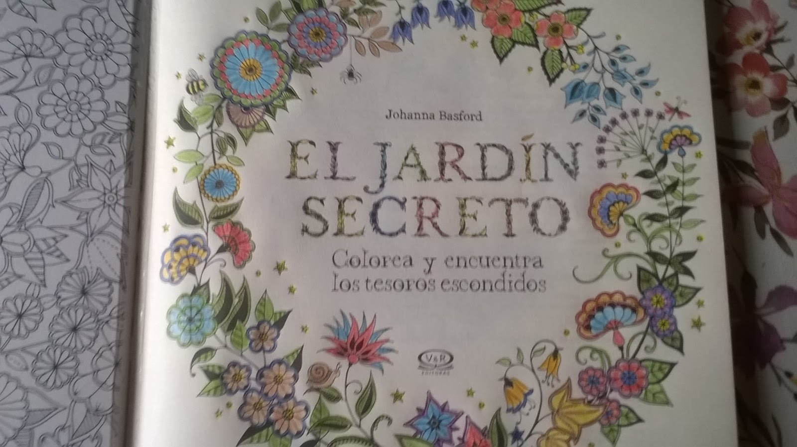 Sol de echesortu rese a el jard n secreto johanna basford for El jardin secreto torrent