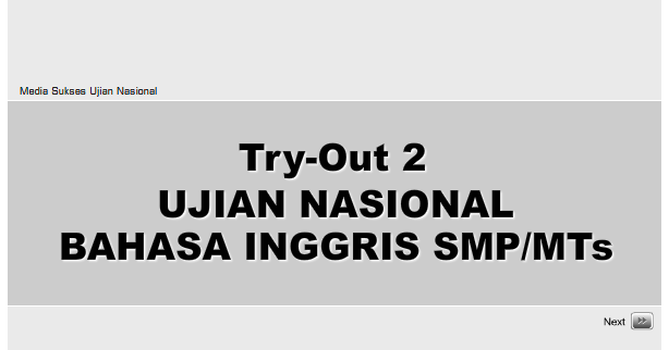 Try Out Ujian Nasional Bahasa Inggris Smp Mts 2 Find The Education