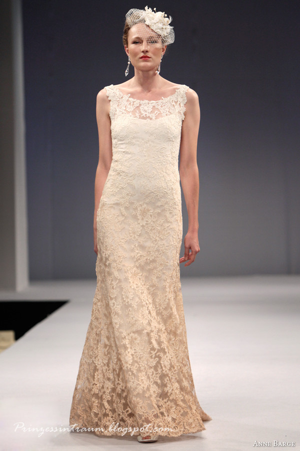 Anne Barge's Fall 2013 bridal collection