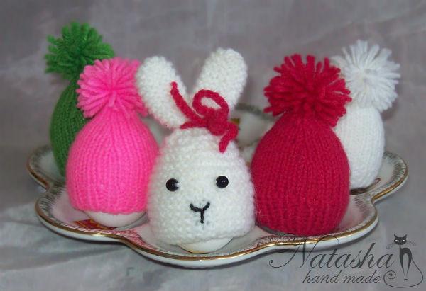 Шапочки для пасхальных яиц с