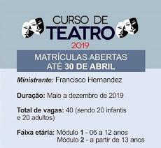 CURSO DE TEATRO EM CAJAZEIRAS!