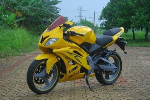 Gambar Modifikasi Motor Yamaha Vixion New Terbaru Kuning