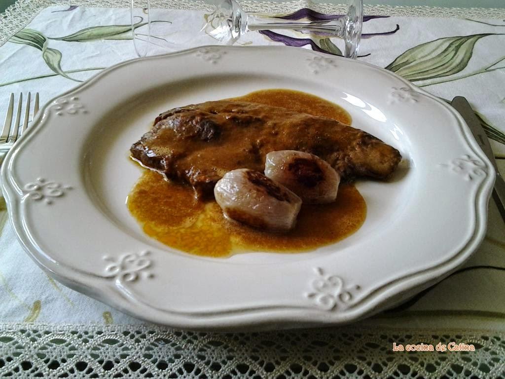 La cocina de catina cadera de novillo en salsa for Cocina 5 ingredientes jamie