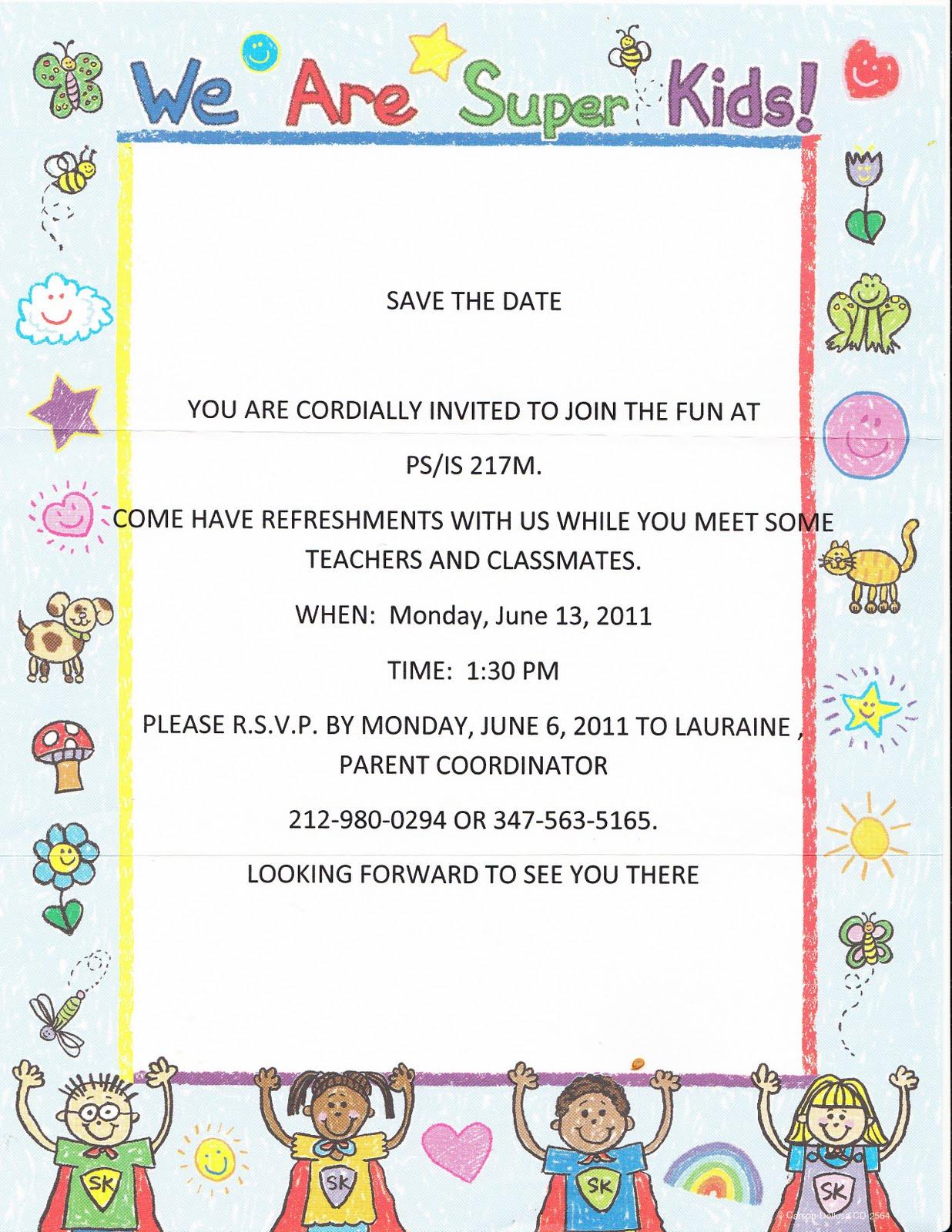 Meet and Greet Invitations