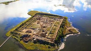 Por Bajin, Reruntuhan Kuno Misterius di Siberia