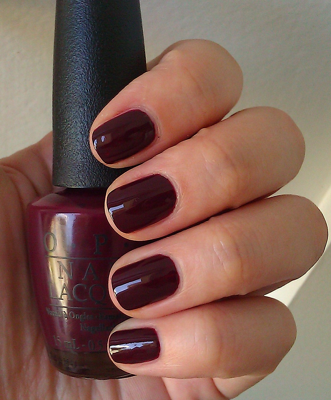 Polish or Perish: Traditional Fall - OPI Mrs O\'Leary\'s BBQ