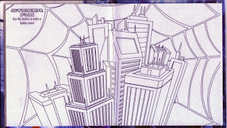 Centerfold of McDonald's The Amazing Spider-Man 3 #8: Activity Book