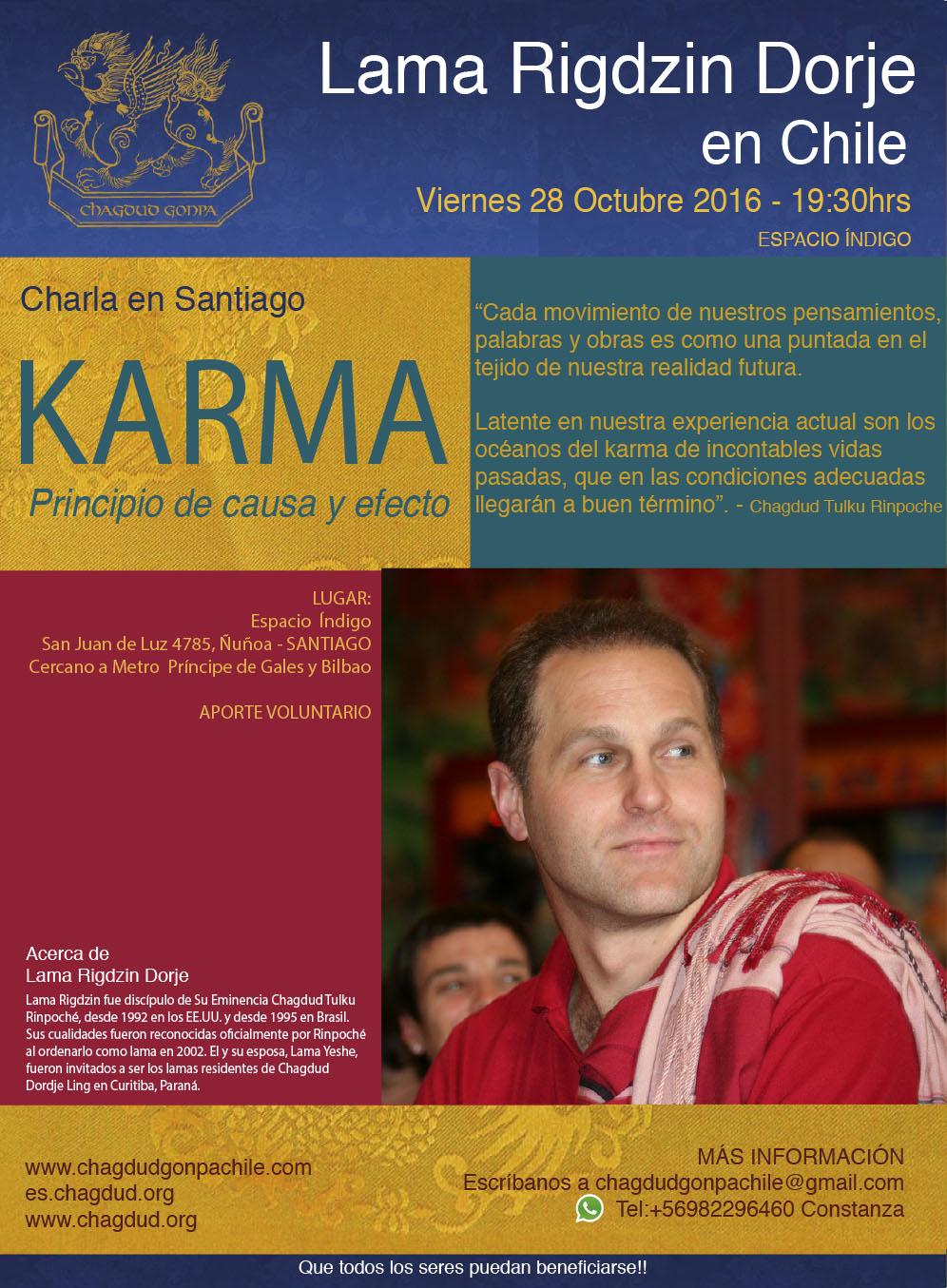Karma: el principio de Causa y Efecto