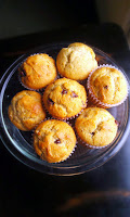 Egg Free Banana Chocolate Chip Muffins