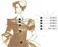 Tamanho standard dos colares