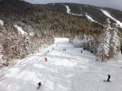 Hawkeye, at Gore Mountain, Friday 01/02/2015.  The Saratoga Skier and Hiker, first-hand accounts of adventures in the Adirondacks and beyond, and Gore Mountain ski blog.