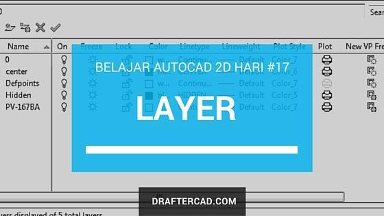cara membuat layer di autocad