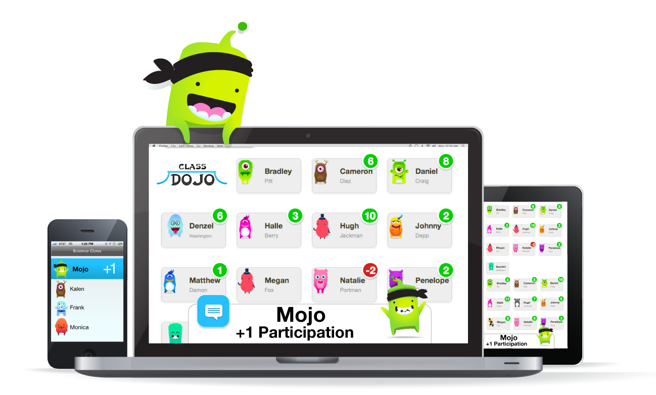 how to delete a child on class dojo