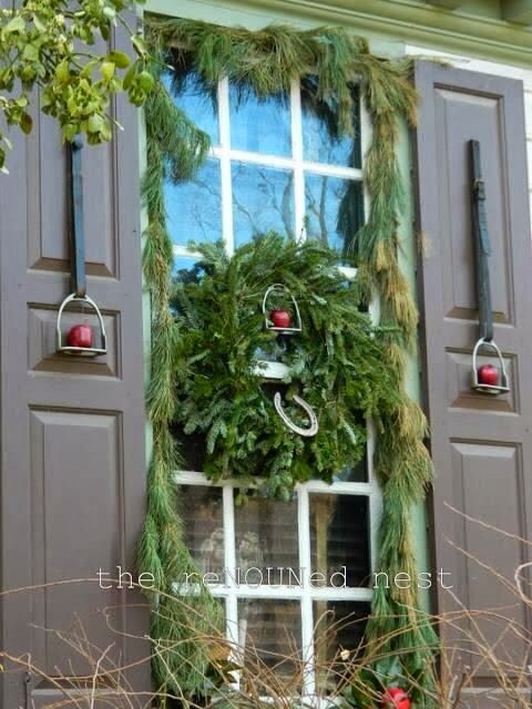 Horse country chic an equestrian christmas for Country chic christmas