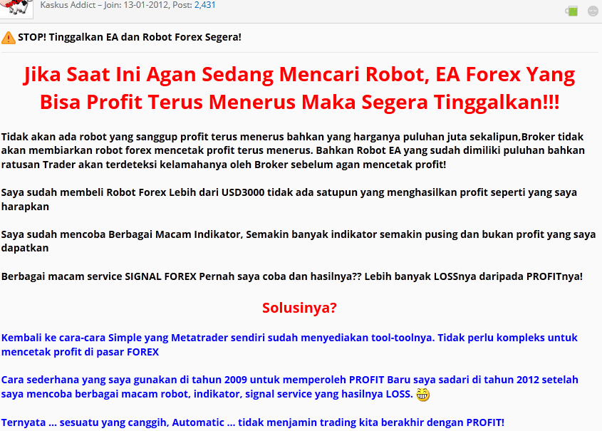Forex bisnis penipu