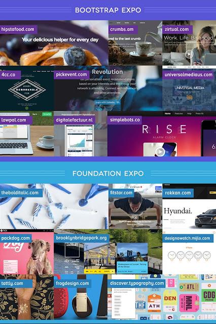 Expo Bootstrap vs Foundation