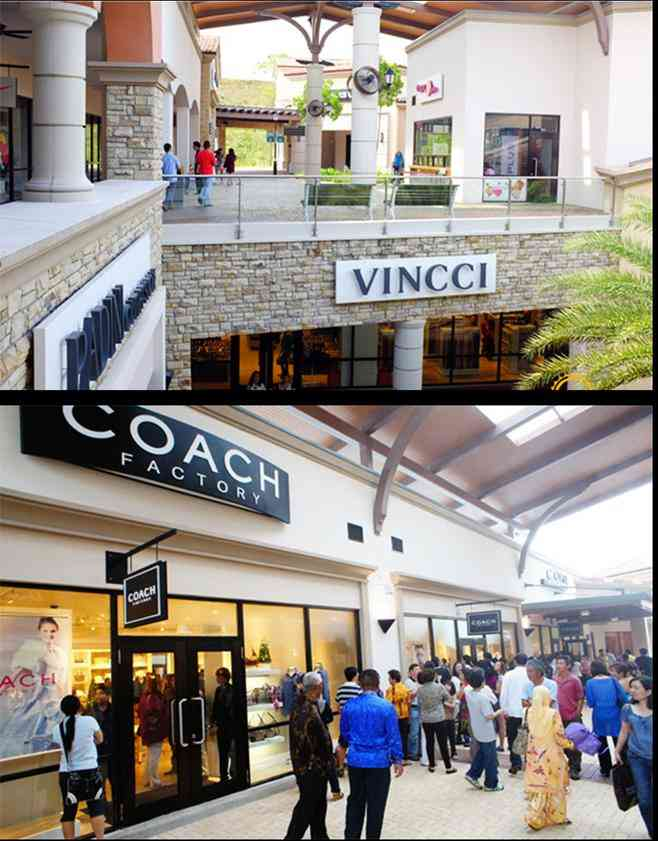 Johor Premium Outlets brand shopping