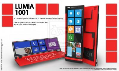 Lumia 1001, Konsep Desain Daur Ulang Nokia 9300