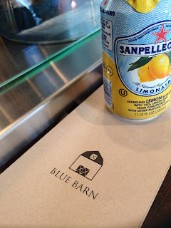 the blue barn menu